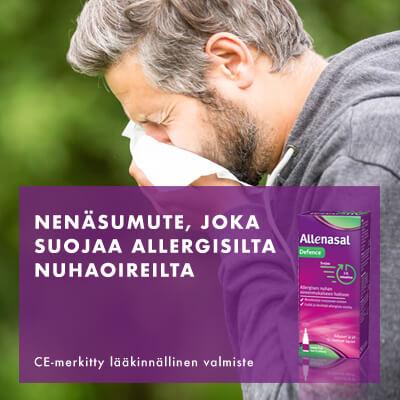 Kun allergia ei jarruta menoasi