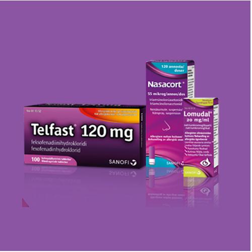 Voinko käyttää NASACORT®-nenäsumutetta yhdessä muiden allergialääkkeiden tai -valmisteiden kanssa?